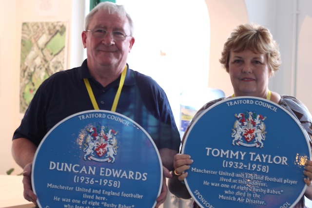 Tom and Cheryl Clare and Blue Plaques